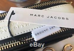 Marc Jacobs Sac Pour Appareil Photo Snapshot Cloud Black Crossbody Rose Authentic Logo