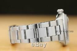 Mens Datejust Blue Diamond Rolex 18k Or Blanc / Ss Montre En Acier Band Withoyster