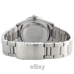 Mens Rolex Datejust 36mm Diamond Watch Oyster Dial Band Roman Vert Steel 1,9 Ct