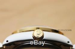 Montre À Cadran De Diamant, Lunette Et Cornes En Acier Rolex Datejet Pour Femme