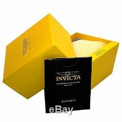 Montre Automatique Invicta 22649 Gent's Avec Cadran Noir Et Bracelet Gris Foncé