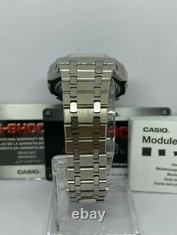 Montre Casio G-shock Ga2100 Casioak Ap Style Royal Oak Bracelet Inoxydable Combo
