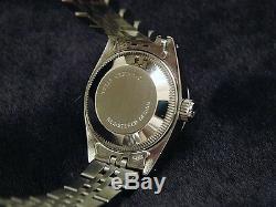 Montre Femme Rolex Datejust En Acier Inoxydable, Or Blanc 18k, Diamant Mop 6917