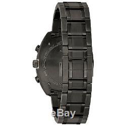 Montre Homme Curv Chronographe Quartz Hommes Cadran Gris Bracelet Montre 98a158