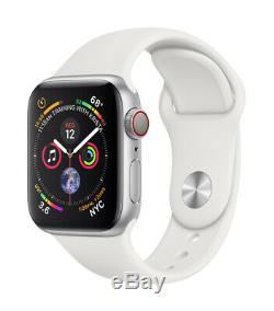 Montre Intelligente Apple Watch Series 4 De 40 / 44mm 4g Pour Boîtier En Aluminium / Acier Cellulaire