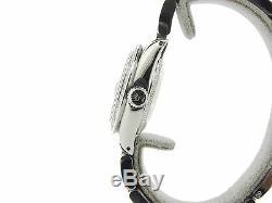 Montre Rolex Datejust En Acier Inoxydable Pour Femme Avec Cadran Et Lunette En Diamant Rose