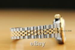 Montre Rolex Datejust Pour Femme Avec Monture En Or Jaune 18 Carats Et Lunette Sertie De Diamants De 1,13 Ct