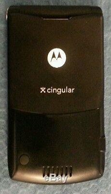 Motorola Razr V3 Gsm Quadribande Débloqué Black- Téléphone Cellulaire Testé