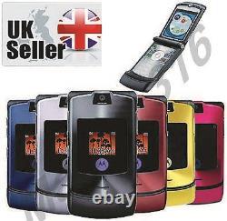Motorola Razr V3i Or, Bleu, Noir, Rose, Rouge, Violet, Argent, Gris Déverrouillé