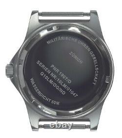 Mwc G10lm Military Watch 50m Pas De Date Vis Case Retour Olive Strap