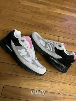 New Balance 991.9 M9919fr Gris / Rose / Noir Made In England Mens Taille 11