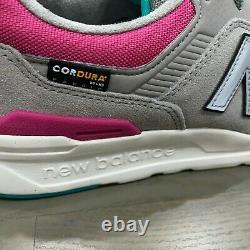 New Balance 997 Grey Pink Teal White Black South Beach Taille 10,5 Cm997hys Nib