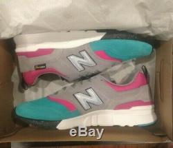 New Balance 997 H Gris, Rose, Bleu Gris, Blanc, Noir, South Beach Sz 10 Flambant Neuf