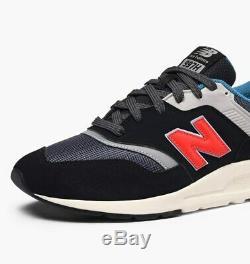 New Balance 997 Noir Gris Lifestyle Sneakers Hommes Chaussures De Course Cm997hai