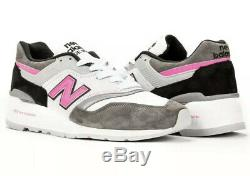 New Balance Made In USA Gris / Rose / Noir M997lbk Taille Homme 10