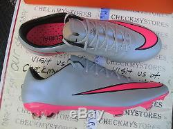 New Nib Nike Mercurial Vapor X Fg 648553-060 Chaussures Choisissent Sz
