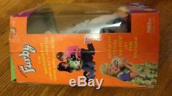 Nib 1998 Original Furby 70-800 Gris Noir Taches Rose Ventre Auriculaire Box Dégâts Bg