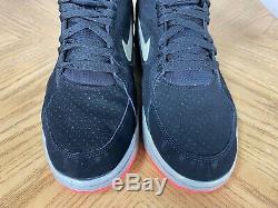 Nike Air Command Hommes Force Spurs Noir Gris Bleu Rose Taille 9.5 684715 001