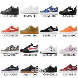 Nike Air Force 1 07 Lv8 Af1 Un Bas Qs Chaussures Sneakers Pour Homme Choix 1