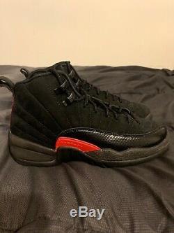 Nike Air Jordan 12 Retro XII Sz Gris Foncé 5y Noir Rush Rose Gs 510815-006