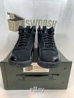 Nike Air Jordan 12 XII Retro Sz 5.5y Noir Gris Foncé Rush Rose Gs 510815-006