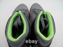 Nike Air Jordan Homme Flight Origin Sneaker Gray/lime/pink/black Size 9
