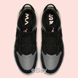 Nike Air Jordan Mars 270 Crimson Rose Tint Noir Gris Cd7070-002 Taille Homme 10.5