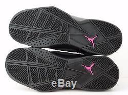 Nike Air Jordan True Flight Gg Noir Gris Foncé Rose Mortel 342774-009 $ 100 Ke