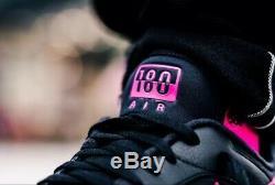 Nike Air Max 180 Aq9974 001 Noir / Rose Chaussures Blast-wolf Gris