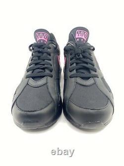 Nike Air Max 180 Black Rose Wolf Grey Blast Taille De L'homme 9.5 Aq9974-001 Nouveau