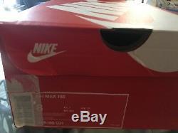 Nike Air Max 180 Noir, Gris, Rouge Et Rose Homme Taille 8