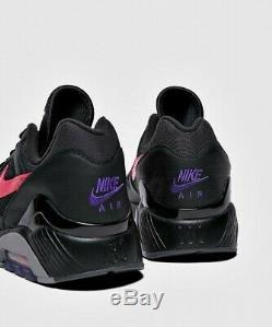 Nike Air Max 180 Sneaker (taille Homme Uk 8 9 10 11) Noir / Rose / Gris