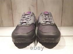 Nike Air Max 1 Miami Nights Black Grey Purple Pink Ar1249-002 Taille Homme 10,5