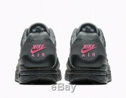Nike Air Max 1 Miami Nights Noir Gris Violet Rose Ar1249-002 Taille Homme Us 12