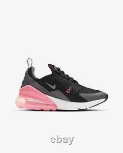 Nike Air Max 270 (gs) Youth Size Uk 3 Eur 35.5 (943345 020) Noir/ Gris/ Rose