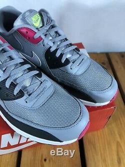 Nike Air Max 90 Gris Rose (gris, Noir, Rose)