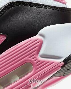 Nike Air Max 90 Recraft Cd0881 101 Blanc, Rose Rose, Gris, Noir Royaume-uni 7, 8
