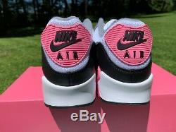 Nike Air Max 90 Recraft Rose Blanc Rose Particules Gris Noir Cd0881-101