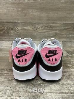 Nike Air Max 90 Recraft Rose Blanc Rose Particules Gris Noir Og Cd0881-101 Sz 14