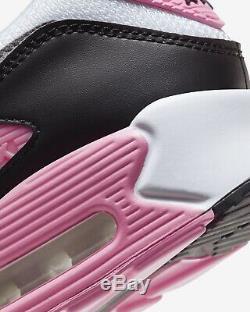 Nike Air Max 90 Recraft Rose Rose Taille 7 Rrp £ 115 Blanc Noir Gris L5