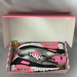 Nike Air Max 90 Uk12 Cd0881-101 Eur47.5 Us13 Blanc Great Rose Rose Rose Noir III 1