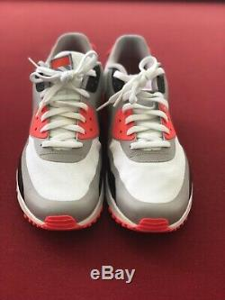 Nike Air Max 90 V Sp Patch Blanc Gris Rose Noir 746682-106 Infrarouge Taille 13