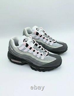 Nike Air Max 95 Black Pink Gunsmoke Grey Fog Premium Chaussures Homme Taille 6 Cj0588