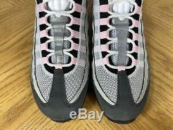 Nike Air Max 95 Gris En Cours Gunsmoke Rose Mousse Noir Chaussures Hommes 10 Cj0588-001
