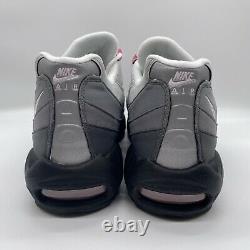 Nike Air Max 95 Hommes Gunsmoke Rose Mousse Gris Noir Taille 14 Exécution Cj0588-001