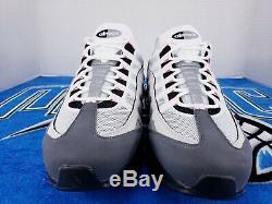 Nike Air Max 95 Noir / Rose Mousse / Gunsmoke Gris Fog Cj0588-001 Tout Neuf Sz 13