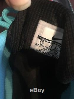 Nike Air Max 95 Premium Tape Noir / Rose-gamma Bleu-gris Zèbre