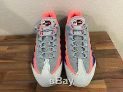 Nike Air Max 95 Pure Platine / Gris / Mango / Rose / Orange / Noir 749766-035 Pour Homme 10