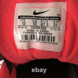 Nike Air Max Homme 1 Ltr Premium Shoes 705282-002 Polka Dot Gray Black Pink Us 13