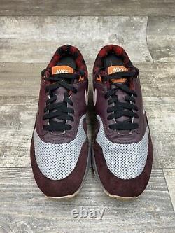 Nike Air Max Premium Flannel Pack Gris Bourgogne Rouge Noir 309717-061 10